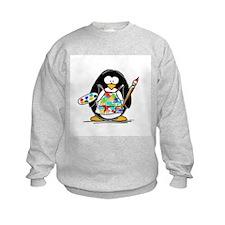 Artist penguin Sweatshirt