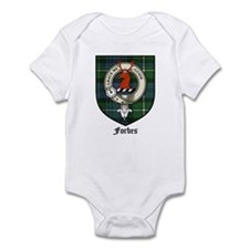 Forbes Clan Crest Tartan Infant Creeper