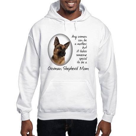 German Shepherd Mom Hooded Sweatshirt