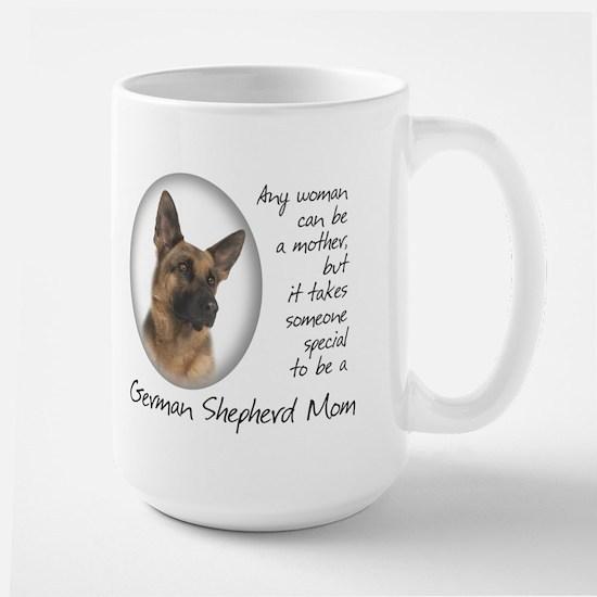 German Shepherd Mom Large Mug