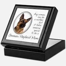 German Shepherd Mom Keepsake Box
