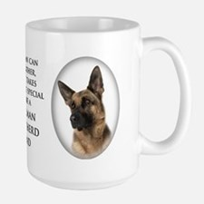German Shepherd Dad Large Mug