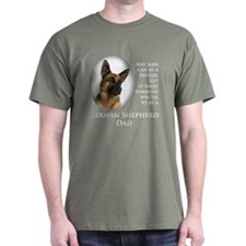 German Shepherd Dad T-Shirt