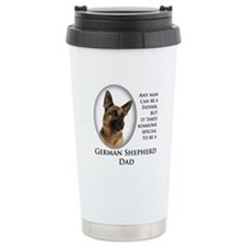 German Shepherd Dad Travel Mug