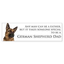 German Shepherd Dad Car Sticker