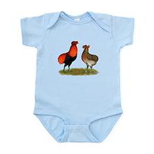 Araucana Chickens Infant Bodysuit