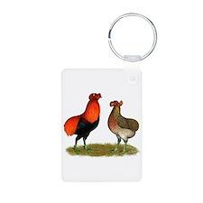 Araucana Chickens Keychains