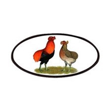 Araucana Chickens Patches