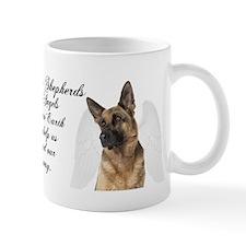 German Shepherd Angel Mug