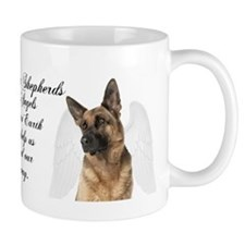 German Shepherd Angel Mug