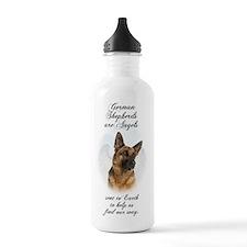 German Shepherd Angel Water Bottle