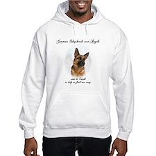 German Shepherd Angel Hoodie