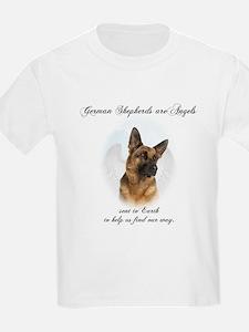 German Shepherd Angel T-Shirt