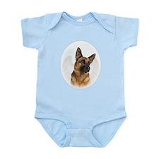 German Shepherd Angel Infant Bodysuit