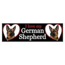 German Shepherd Car Sticker
