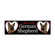 German Shepherd Car Magnet 10 x 3