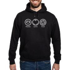 Peace Love Film Hoodie