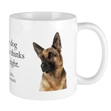 German Shepherd v Wife Mug