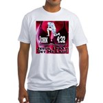 Jesus I Pray, Get Me Laid! Fitted T-Shirt