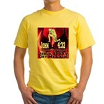 Jesus I Pray, Get Me Laid! Yellow T-Shirt
