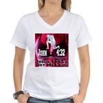 Jesus I Pray, Get Me Laid! Women's V-Neck T-Shirt