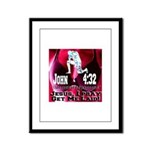 Jesus I Pray, Get Me Laid! Framed Panel Print