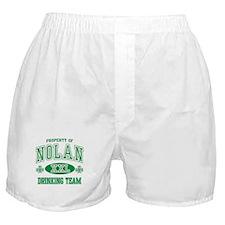 Nolan Irish Drinking Team Boxer Shorts