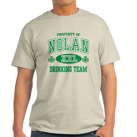 Nolan Irish Drinking Team Light T-Shirt