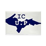 IC UP Rectangle Magnet (10 pack)