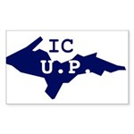 IC UP Sticker (Rectangle)