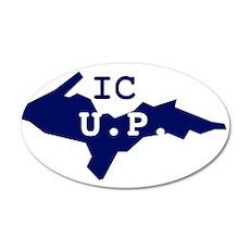 IC UP 22x14 Oval Wall Peel