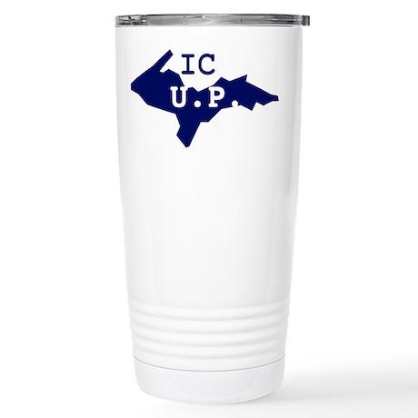 IC UP Stainless Steel Travel Mug