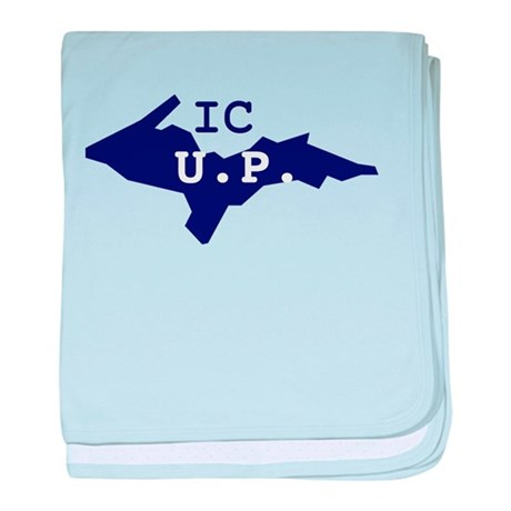 IC UP baby blanket