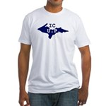 IC UP Fitted T-Shirt
