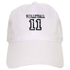 Volleyball 11 Baseball Cap