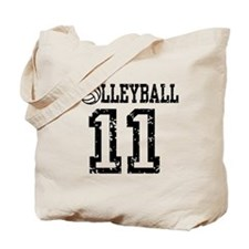 Volleyball 11 Tote Bag