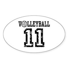 Volleyball 11 Decal