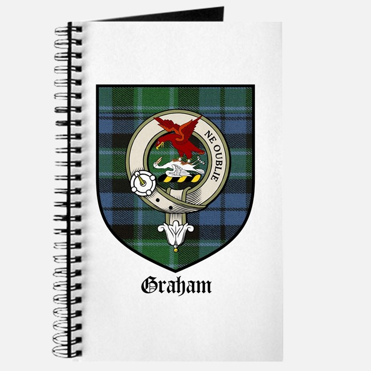 Graham Clan Crest Tartan Journal