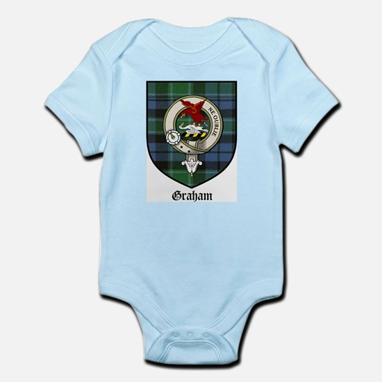 Graham Clan Crest Tartan Infant Creeper