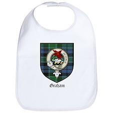 Graham Clan Crest Tartan Bib