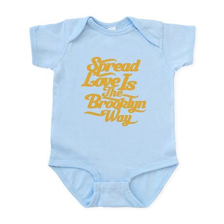 Brooklyn Love Yellow Infant Bodysuit