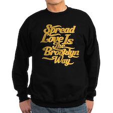 Brooklyn Love Yellow Sweatshirt
