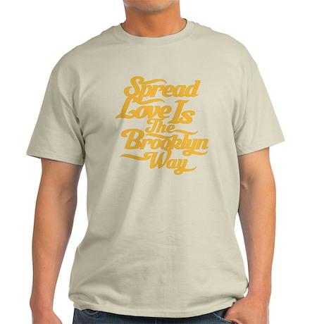 Brooklyn Love Yellow Light T-Shirt