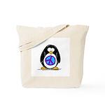 Peace penguin Tote Bag
