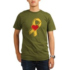 Heart Ribbon T-Shirt