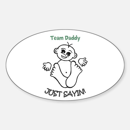 Stationary, Buttons & More Sticker (Oval)