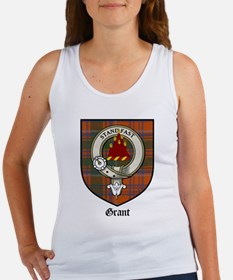 Grant Clan Crest Tartan Women's Tank Top