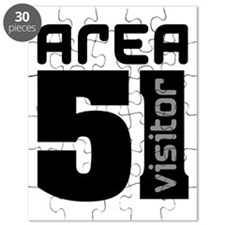 Area 51 Alien Visitor Puzzle