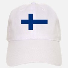 Finnish Flag Baseball Baseball Cap