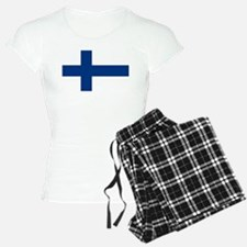Finnish Flag Pajamas